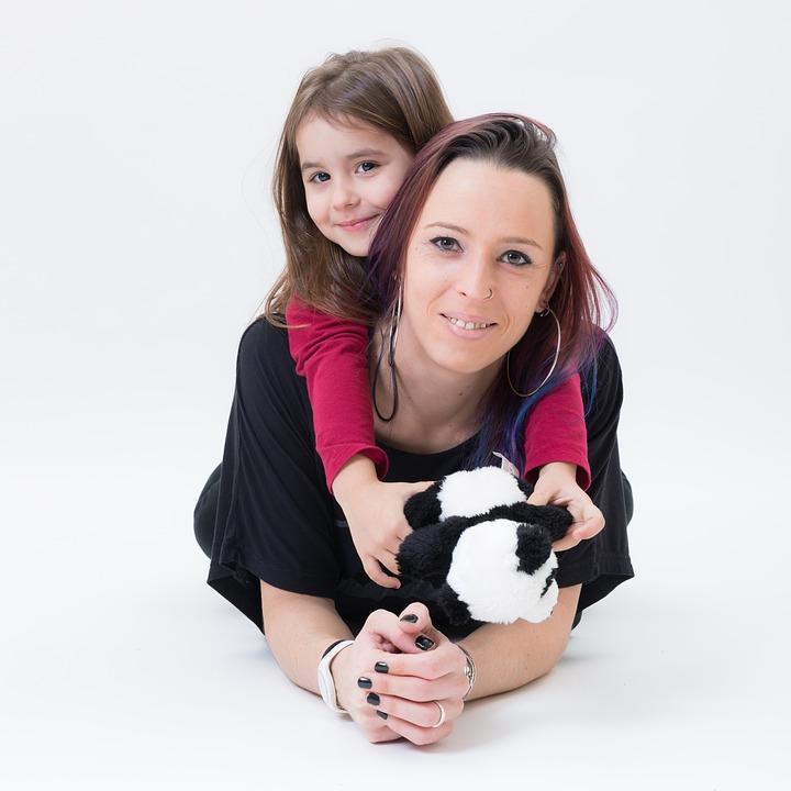 Studio Mom Mother Smile Woman Girl Family Love